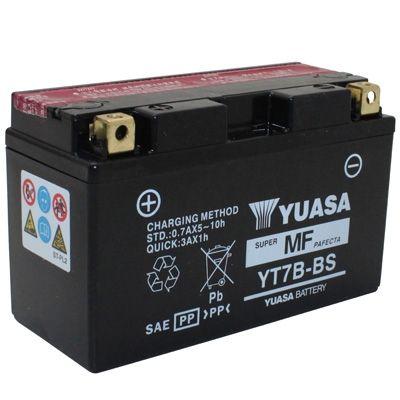 batterie yuasa yt7b bs 12v 6 5ah sans entretien livr e avec pack acide pi ces electrique sur. Black Bedroom Furniture Sets. Home Design Ideas