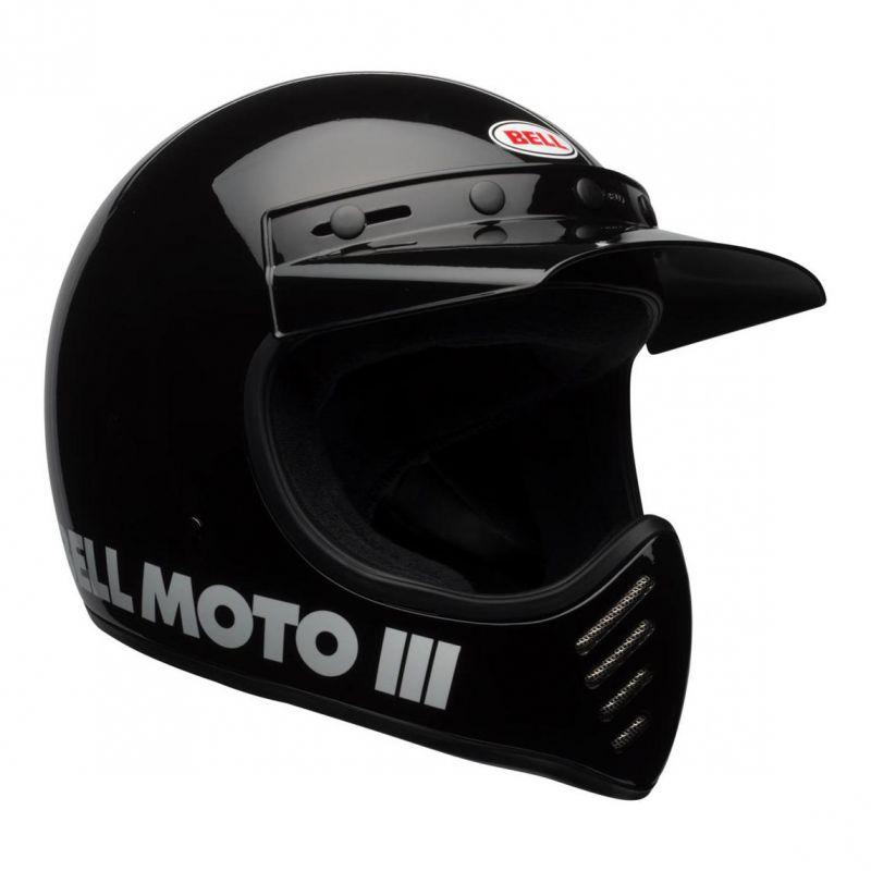 Casque Bell Moto 3 Classic noir - 1