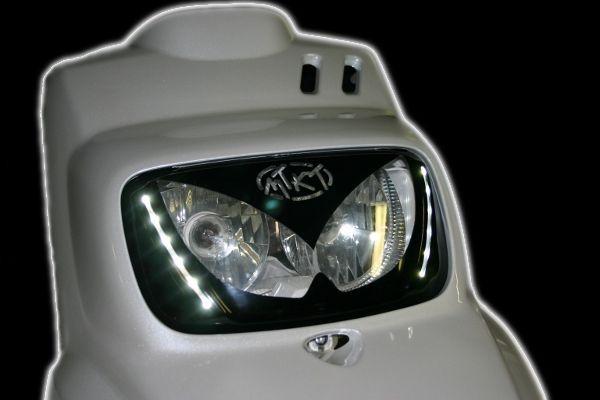 Masque d'optique MTKT avec leds Booster / Bw's