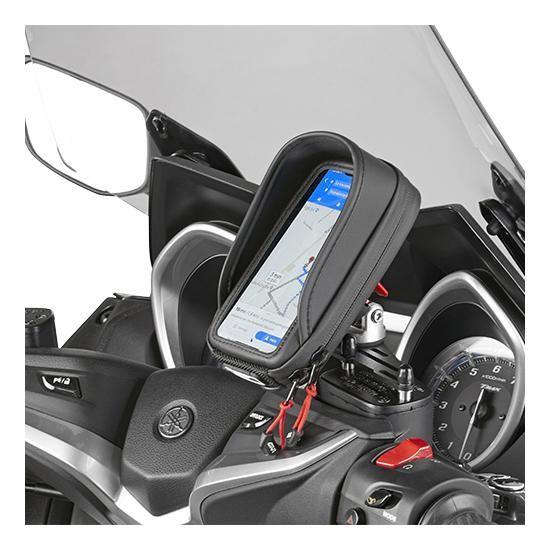 Support smartphone/GPS Givi sur bocal de frein - 2