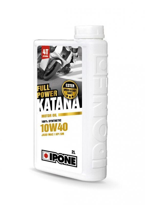 huile moteur 4t ipone full power katana 10w40 2l lubrifiant sur la b canerie. Black Bedroom Furniture Sets. Home Design Ideas