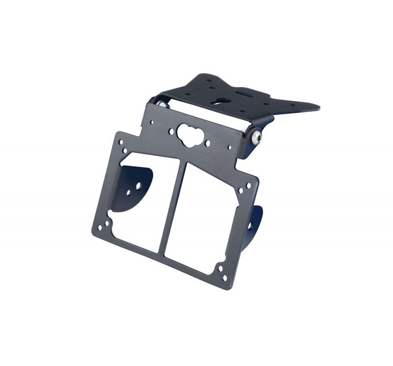 Support de plaque ajustable avec supports clignotants