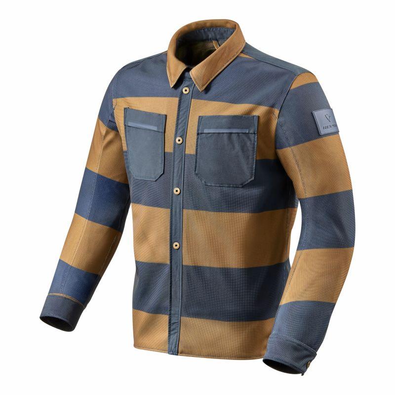 Sur-chemise Rev'it Tracer Air marron/bleu