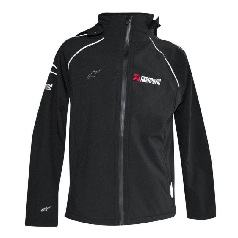 Ongekend Veste zip Akrapovic noir - Sportswear sur La Bécanerie QY-52