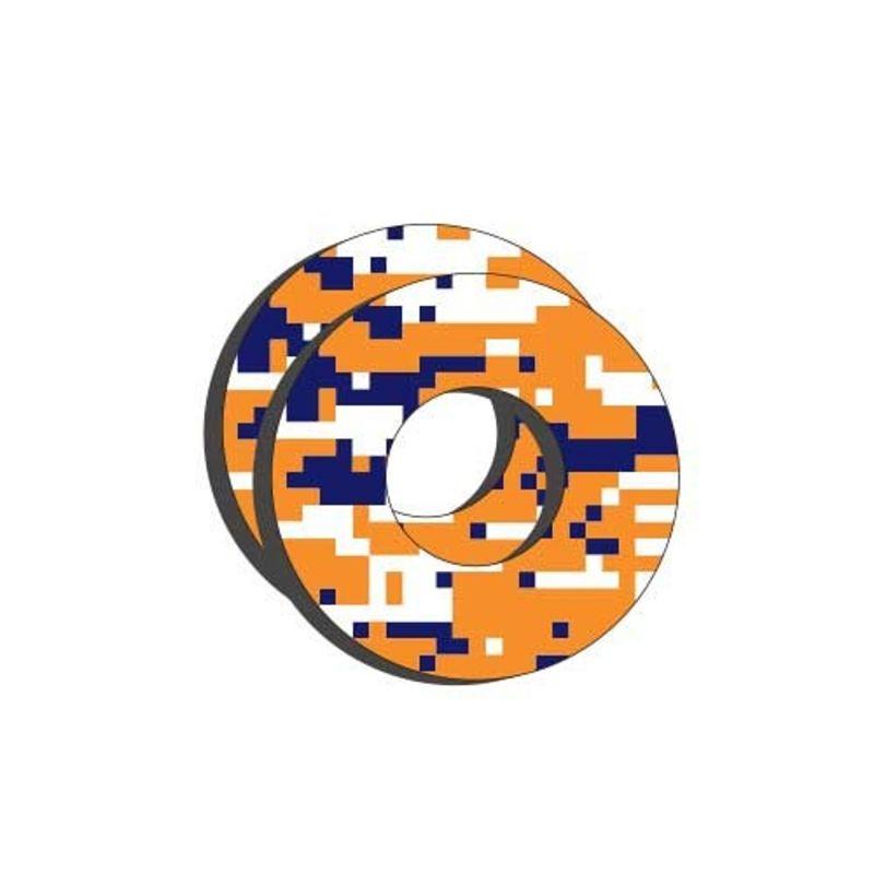 Donuts FX Factory Effex Digital Camo orange/blanc/bleu
