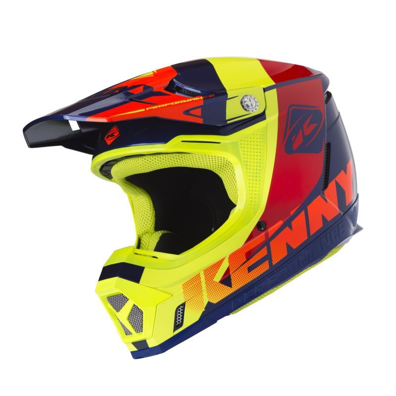 Casque cross Kenny Performance multi