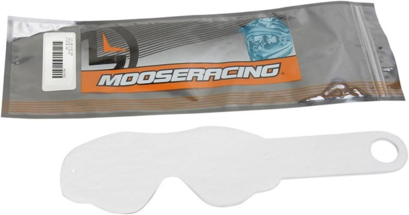 Lot de 10 Tear-Off Moose Racing incolore