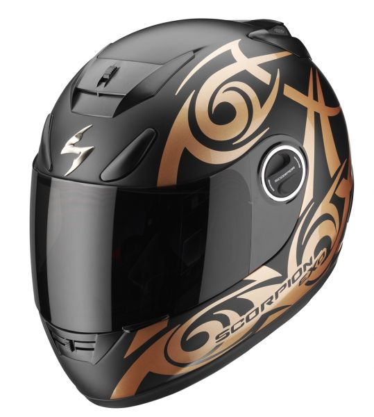 casque int gral scorpion exo 750 air tribal noir bronze. Black Bedroom Furniture Sets. Home Design Ideas