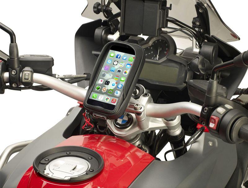 Support téléphone universel Givi pour iPhone 6 Plus / iPhone 7 - 1