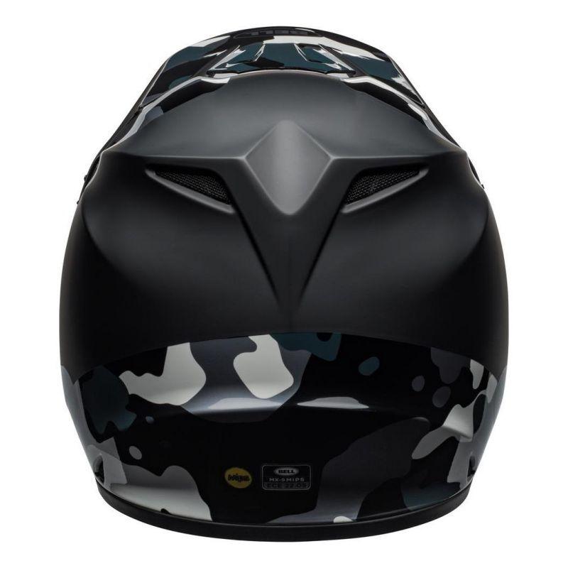 Casque cross Bell MX 9 Mips Presence Camo titanium/noir - 6