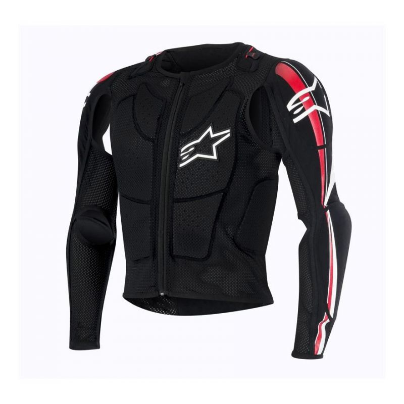 Gilet de protection Alpinestars BIONIC PLUS noir/rouge/blanc