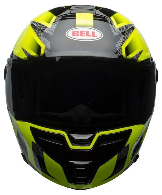 Casque intégral Bell SRT Modular Predator vert/noir - 4