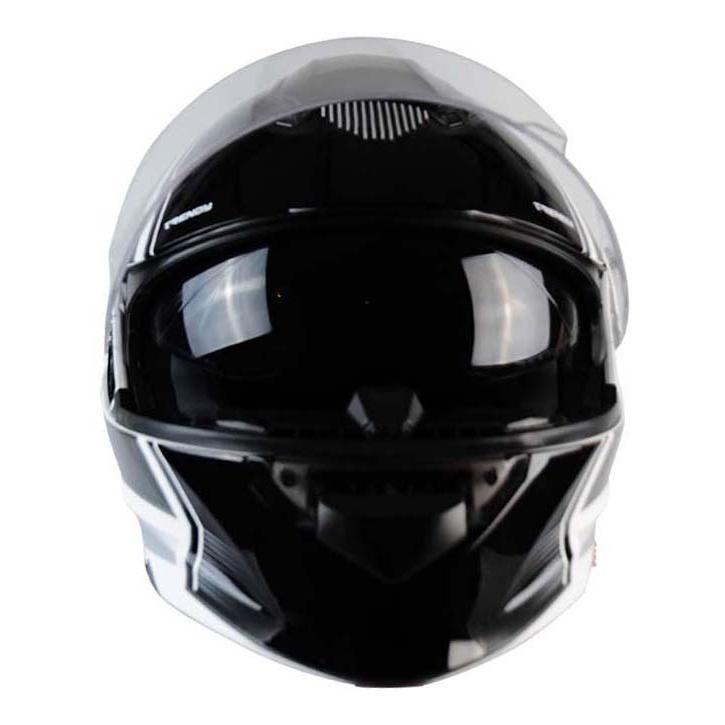 Casque modulable Trendy T-704 Ready blanc / noir verni - 5