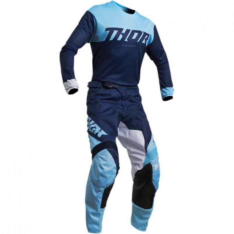 Pantalon cross Thor Pulse Factor navy/powder - 3