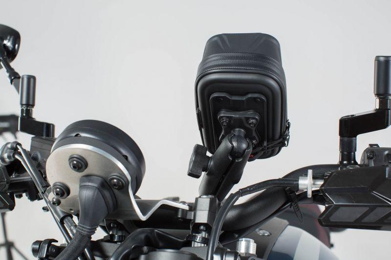 Kit SW-MOTECH Navi Case Pro S avec support - 1