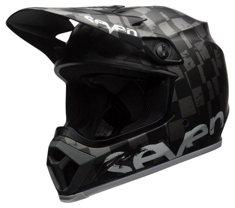 Casque cross Bell MX 9 Seven Checkmate