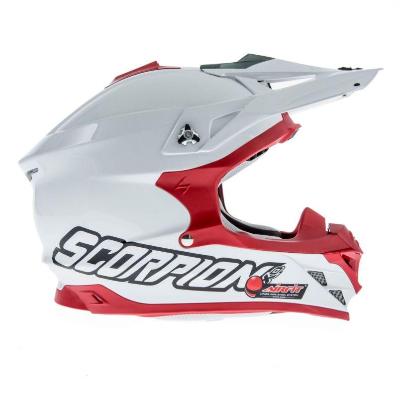 Casque cross Scorpion VX 15 EVO AIR Blanc/Rouge - 3