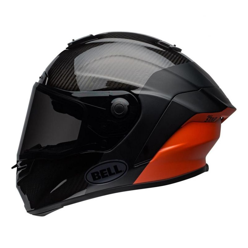 Casque intégral Bell Race Star Flex Surge noir/orange - 7