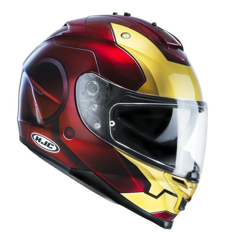 Casque intégral HJC IS17 MARVEL IRONMAN MC1