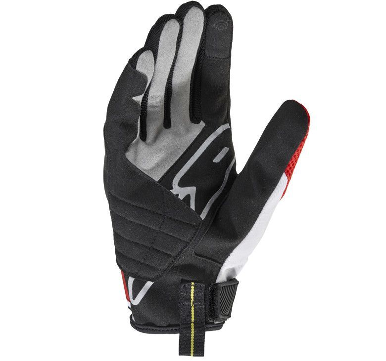 Gants Spidi FLASH-R EVO noir/rouge - 2