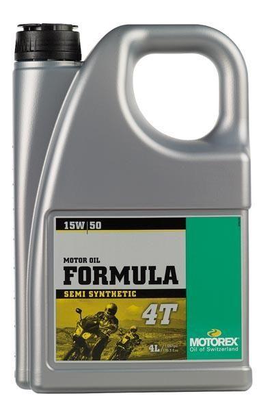 huile moteur 4t motorex formula 15w50 4l lubrifiant sur la b canerie. Black Bedroom Furniture Sets. Home Design Ideas