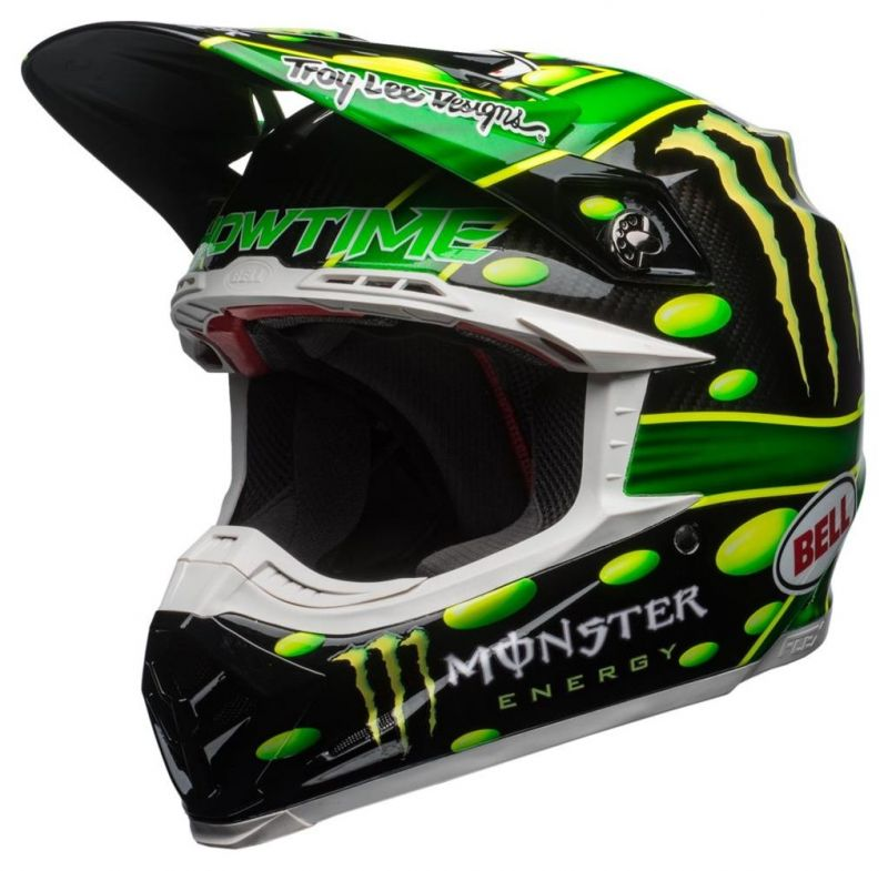 Casque cross Bell Moto 9 Flex MC Grath Monster Replica 18.0 Gloss