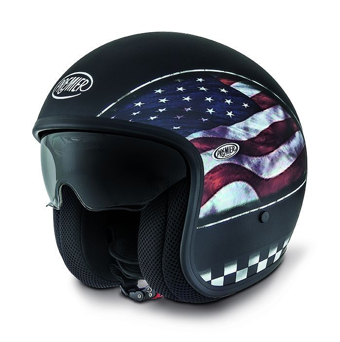 casque jet premier vintage flag usa bm mat pi ces casques moto sur la b canerie. Black Bedroom Furniture Sets. Home Design Ideas