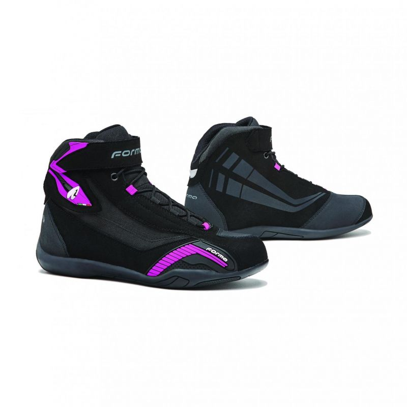 Genesis Forma Chaussures Moto Lady Noirfuchsia Femme HE2IeWYD9