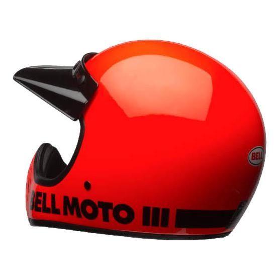 Casque Bell Moto 3 Classic orange fluo - 3