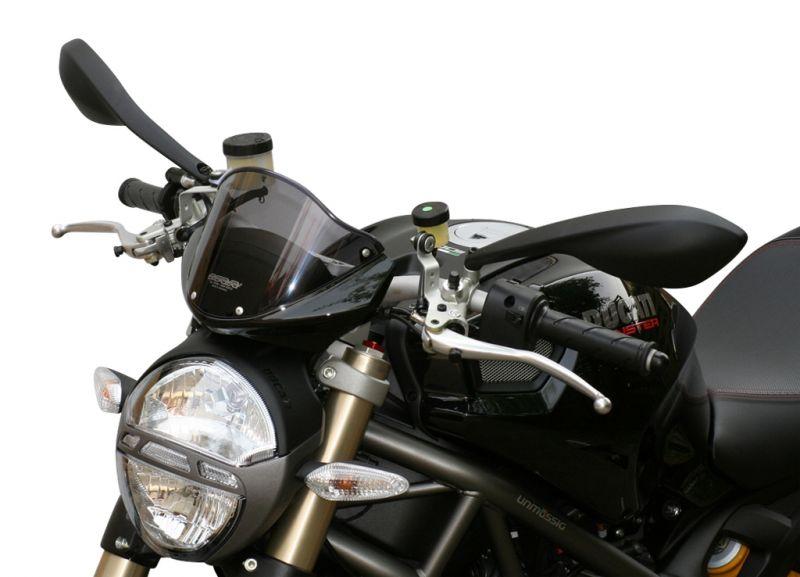 Saute Vent Mra Type Origine Clair Ducati Monster 696 08 14 Pieces
