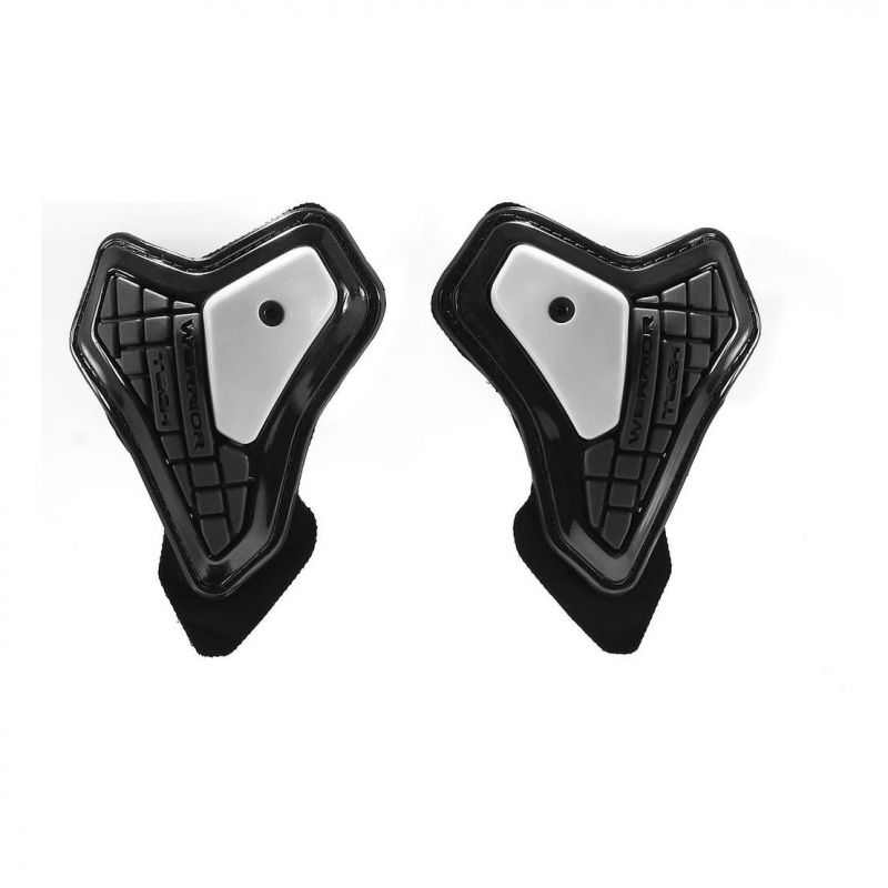 Protections de coudes Spidi WARRIOR ELBOW SLIDER noir/blanc