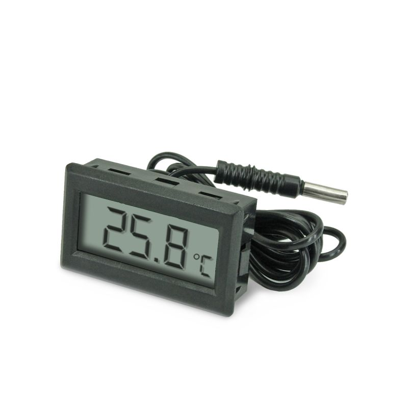 Thermom tre digital encastrer temp rature exterieur for Thermometre exterieur original