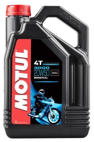 Huile moteur 4T Motul 3000 20W50 4L
