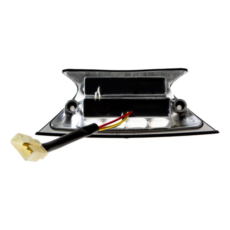 Feu arrière à LEDS Piaggio Zip 00- chrome fumé - 1