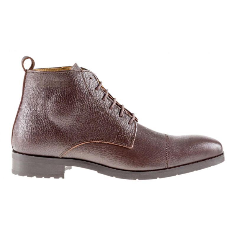 Chaussures moto Helstons Heritage marron - 1