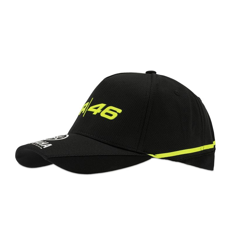 casquette vr46 valentino rossi yamaha noir 2018 sportswear sur la b canerie. Black Bedroom Furniture Sets. Home Design Ideas