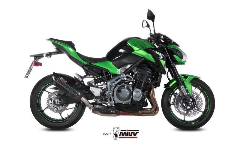 Silencieux Mivv Suono Inox noir Kawasaki Z900 2017 - 1
