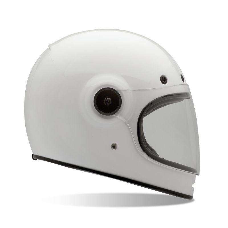 casque moto int gral bell bullitt blanc casques moto sur la b canerie. Black Bedroom Furniture Sets. Home Design Ideas