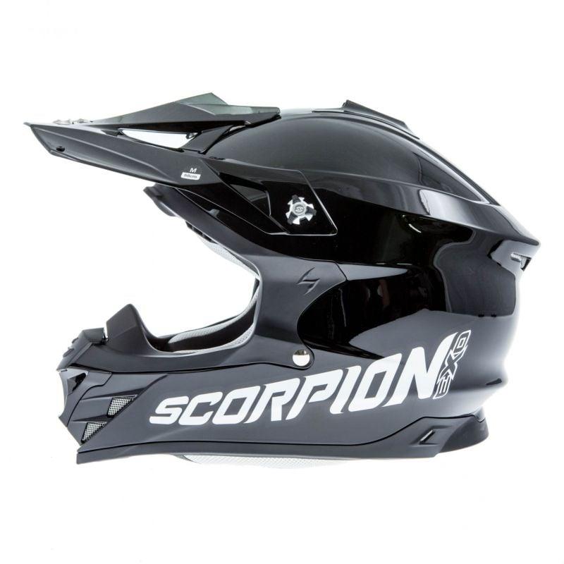 Casque cross Scorpion VX-15 EVO AIR Noir - 2