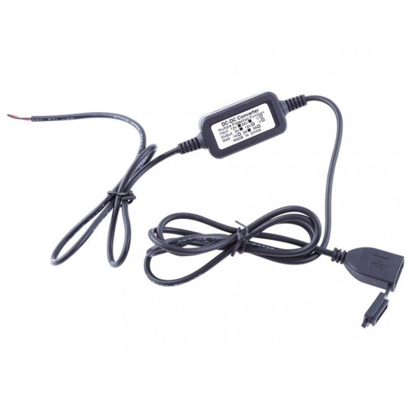 Prise USB Brazoline étanche multifixation 12V 2A - 2