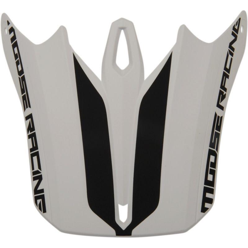 Visière pour casque Moose Racing FI Session blanc/noir