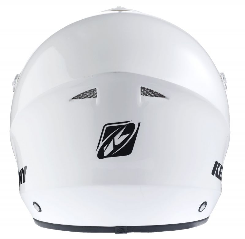 Casque Kenny Trial Up Solid Blanc - 3