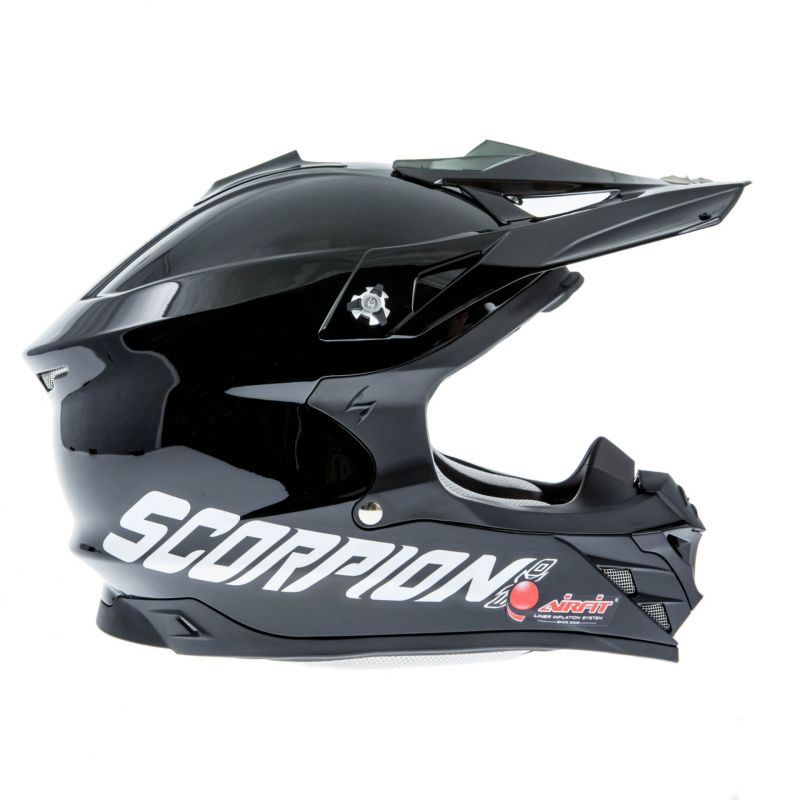 casque cross scorpion vx 15 evo air noir casques moto sur la b canerie. Black Bedroom Furniture Sets. Home Design Ideas