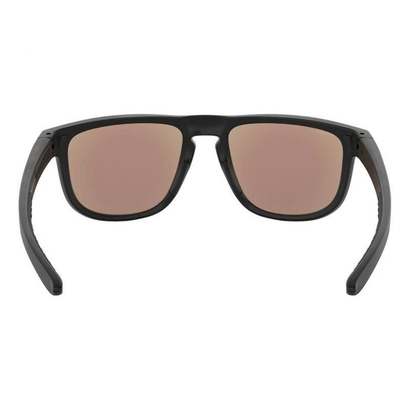 8378edf5d3a4ca Lunettes de soleil Oakley Holbrook Maverick Vinales Collection Matte Black  verres PRIZM Sapphire - 1
