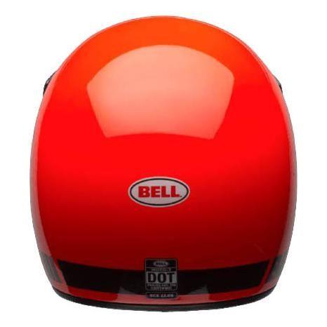 Casque Bell Moto 3 Classic orange fluo - 4