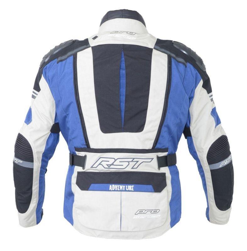 Veste textile RST Pro Serie Adventure III bleu - 1