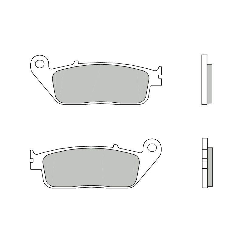 plaquettes de frein brembo 07074cc carbone c ramique avant pi ces freinage sur la b canerie. Black Bedroom Furniture Sets. Home Design Ideas