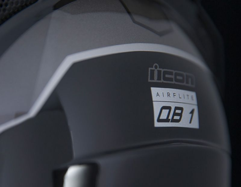 Casque intégral Icon Airflite QB1 noir - 3