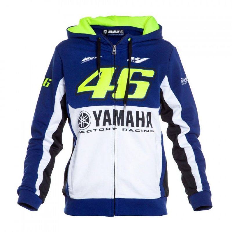 veste zip femme vr46 valentino rossi yamaha 2016 sportswear sur la b canerie. Black Bedroom Furniture Sets. Home Design Ideas