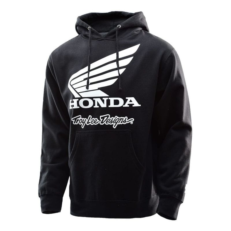 5742722c9dd9 Sweat à capuche Troy Lee Designs Honda Wing noir - Sportswear sur La ...